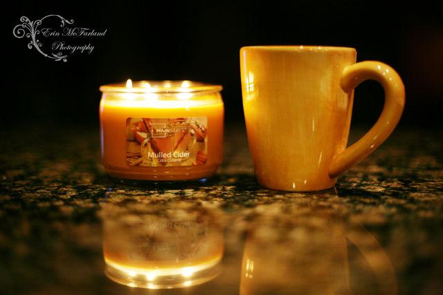 Mocha & a Candle